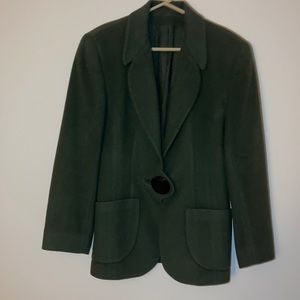 Jackets & Blazers - Designer Green Women's Jacket